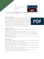 THREE Dimensional Design FSCJspring12