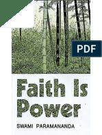 Faith as a Constructive Force