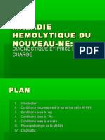 Maladie Hemolytique Du Nouveau-ne