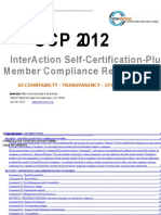 2012 Self-Certification-Plus Compliance Form