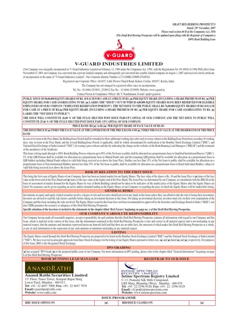 Vguard Stocks Securities Finance