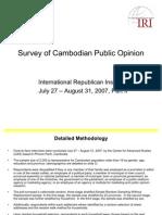 IRI Survey Jul Aug 2007 App