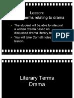 01 Literary Terms Drama