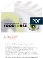 ADI Delegazione Food Design - FoodToUse Conference