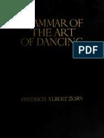 grammar of art of dance