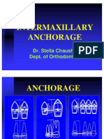 Intrmaxillary Anchorage