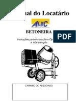 Plugin Manual Betoneira