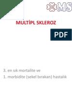 Multiple Sklerozis Ders