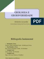 GEOLOGIA E GEODIVERSIDADE