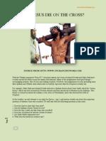Did Jesus Die on the Cross vs Dr.zakir Naik