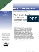 ACCA Installation Standard