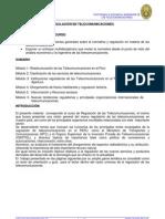 Cap 01 - Reestructuracion de Las Telecomunicaciones
