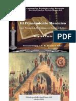Dominguez y Gonzalez Fernando - El Pensamiento Masonico 3