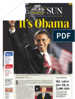 Obama Front Page