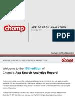 Chomp Charts December