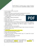 Petiçaõ DPC - MODELO