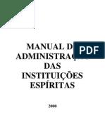 Manual de Instituição Espírita