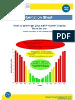 Vitamin D Info Sheet Long Version July2011 Final