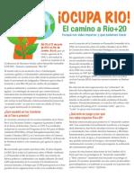 El camino a Río+20 Por qué nos debe importar y qué podemos hacer