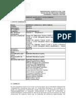 Primeros Auxilios e Inyectables 2011-II