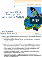 Crack propagation in Ansys