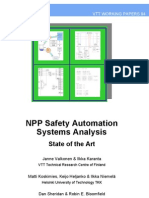 NPP Safety Automation State of the Art