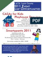 2011 Sponsor Ships for C4K and Trivia