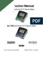 Manual Equipo ION 700