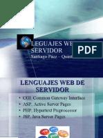 Leguajes Web de Servidor