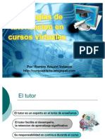 Estrategias de Tutoria Virtual