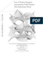 Twistor Geometry, Super Symmetric Field Theories in Supertring Theory - C. Samann