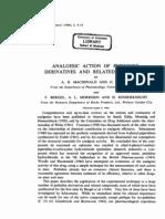 A.D. Macdonald et al- Analgesic Action of Pethidine Derivatives and Related Compounds
