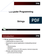 C programming language - strings