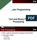 C programming language - Files