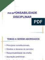 Aula - Responsabilidade Disciplinar