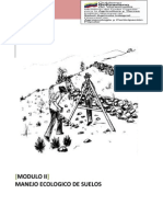 PTMS Colectivo Trujillo, Modulo II. Manejo Ecologico de Suelos
