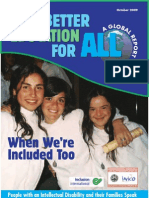 Better Education for All Global Report October 2009