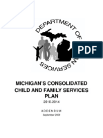 Michigan's Consolidated Child and Family Service Plan 2010-2014