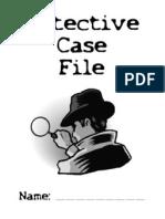 Detective Case File Cover