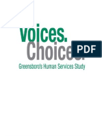 Voices. Choices. Needs Assessment Final Report (2009)
