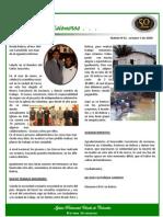Boletin 43 - Octubre 3 / 2008 - INFORME DE BOLIVIA