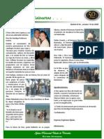 Boletin 44 Octubre 10 2008 - INFORME DE MOZAMBIQUE