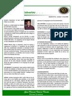 Boletin 45 - Octubre 17 / 2007 - INFORME DESDE EL SALVADOR