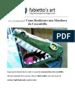 TUTORIAL Maschera Coccodrillo