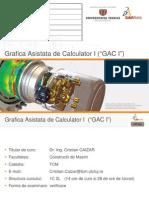 Curs-Grafica Asistată de Calculator - Modelare/Proiectare în Solidworks