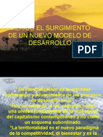 MEXICO EL SURGIMIENTO DE UN NUEVO MODELO DE DESARROLLO