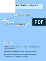 II. TEORÍA ATÓMICA