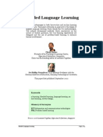 Blended Language Learning