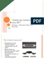 Tipos de Conectores y Puertos