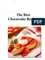 The Best Cheesecake Recipes (89 Recipes) - Free Preview Version